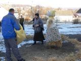 2012. február 22.- Télbúcsúztató – tavaszváró Kiszebáb égetés