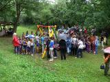 2012. június 11. -  Környezetvédelmi vetélkedő az erdei iskolában