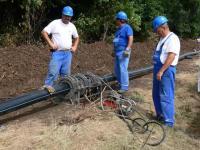 2006 augusztus - Az ivóvízberuházás munkálatai