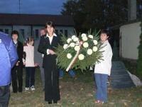 2006 október 23 - Megemlékezés 1956-ról. Koszorúzás és fáklyás felvonulás