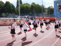 2005 szeptember 13 - A Hunyadi Mazsorett vendégszereplése Grimmában