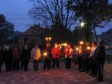2011.10.23.-Fáklyás felvonulás és megemlékezés
