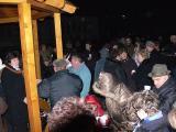 2011.11. 27. - Az első adventi gyertya meggyújtása a község főterén
