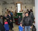 Látogatók a helytörténeti gyűjteményben